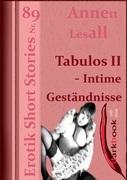 Tabulos II - Intime Geständnisse