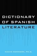 Dictionary of Spanish Literature