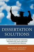 Dissertation Solutions