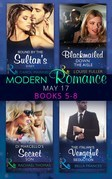 Modern Romance May 2017 Books 5 - 8: Bound by the Sultan's Baby / Blackmailed Down the Aisle / Di Marcello's Secret Son / The Italian's Vengeful Seduction (Mills & Boon e-Book Collections)