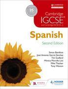 Cambridge IGCSE® Spanish Student Book Second Edition