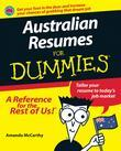Australian Resumes For Dummies