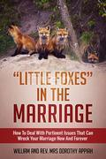 """""""LITTLE FOXES IN THE MARRIAGE: HOW TO DEAL WITH PERTINENT ISSUES THAT CAN WRECK YOUR MARRIAGE NOW AND FOREVER"""