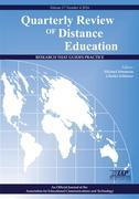 """Quarterly Review of Distance Education """"Research That Guides Practice"""" Volume 17 Number 4 2016"""