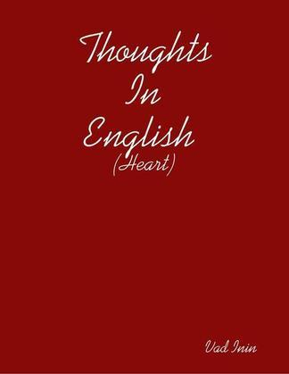 Thoughts In English (Heart)