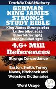 German King James Strongs Study Bible