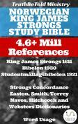 Norwegian King James Strongs Study Bible