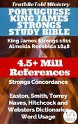 Portuguese King James Strongs Study Bible