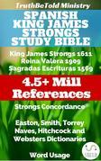 Spanish King James Strongs Study Bible