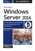 Microsoft Windows Server 2016  –  Das Handbuch