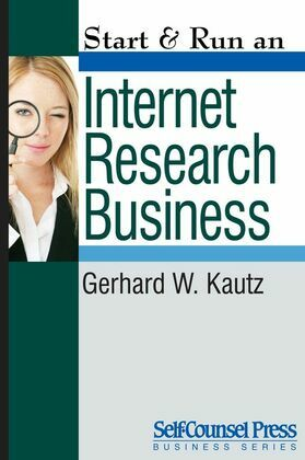 Start & Run an Internet Research Business