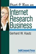 Start &amp; Run an Internet Research Business