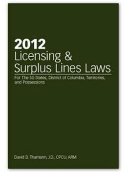 2012 Licensing & Surplus Lines