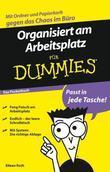 Organisiert am Arbeitsplatz fr Dummies Das Pocketbuch