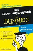 Das Bewerbungsgesprch Fr Dummies