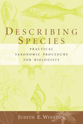 Describing Species: Practical Taxonomic Procedure for Biologists