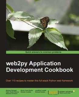web2py Application Development Cookbook