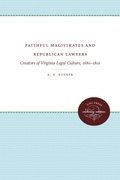 Faithful Magistrates and Republican Lawyers