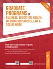 Peterson's Graduate Programs in Business, Education, Health, Information Studies, Law & Social Work 2012