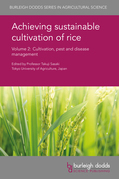 Achieving sustainable cultivation of rice Volume 2
