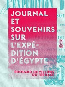 Journal et souvenirs sur l'expédition d'Égypte