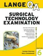 Lange Q&A Surgical Technology Examination, Sixth Edition