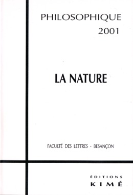 4 | 2001 - La nature - Philosophique