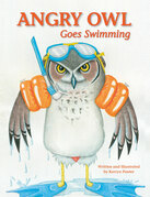 Angry Owl Goes Swimming