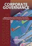 Corporate Governance - Effective Performance Evaluation of the Board