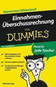 Einnahmenüberschussrechnung für Dummies Das Pocketbuch