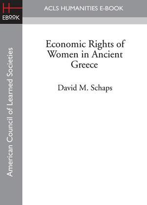 Economic Rights of Women in Ancient Greece