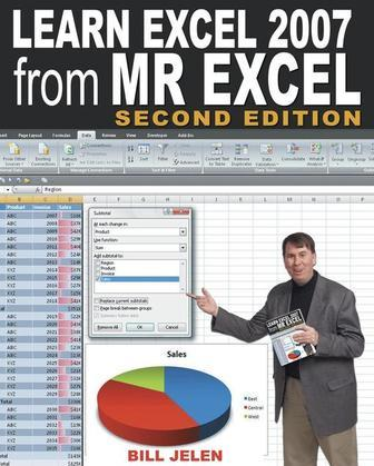 Learn Excel 97 Through Excel 2007 from Mr. Excel: 377 Excel Mysteries Solved!
