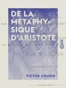 De la métaphysique d'Aristote