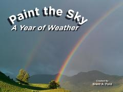 Paint the Sky: A Year of Weather