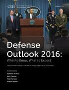 Defense Outlook 2016