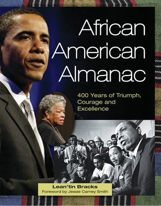 African American Almanac: 400 Years of Triumph, Courage and Excellence