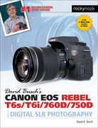 David Busch's Canon EOS Rebel T6s/T6i/760D/750D Guide to Digital SLR Photography