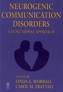 Neurogenic Communication Disorders: A Functional Approach