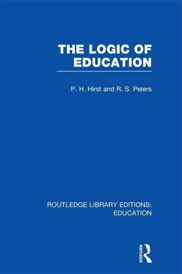 The Logic of Education (Rle Edu K)