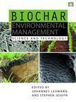 Biochar for Environmental Management: Science and Technology