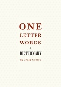 One-Letter Words, a Dictionary