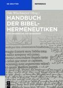 Handbuch der Bibelhermeneutiken: Von Origenes bis zur Gegenwart