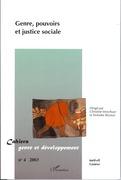 Genre, pouvoirs et justice sociale