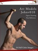Art Models JohnV010: Figure Drawing Pose Reference