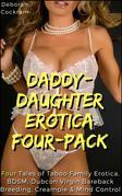 Daddy-Daughter Erotica 4-Pack