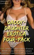 Daddy-Daughter Erotica 4-Pack