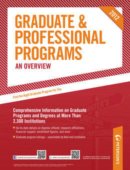 Peterson's Graduate &amp; Professional Programs: An Overview 2012