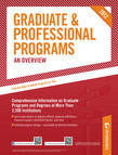 Peterson's Graduate & Professional Programs: An Overview 2012