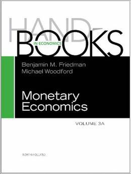 Handbook of Monetary Economics vols 3A+3B Set