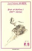 15 | 2008 - Etat et Nation I (19e siècle) - Alhim